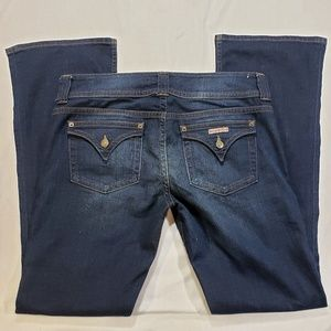 Hudson flap pocket boot cut blue Jeans sz 32